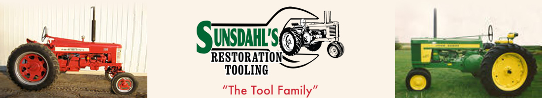 Return to Sunsdahl's Restoration Tooling Home Page